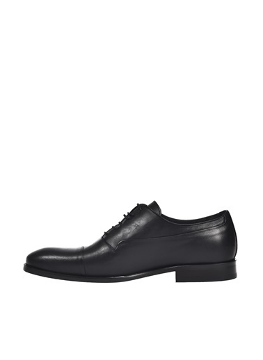 Dr.Flexer 122301 HakıkıDerıErkek Comfort Ayakkabı Sıyah Siyah